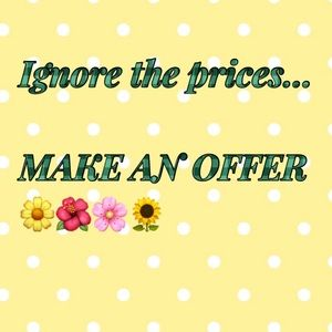 Send your best offers😃